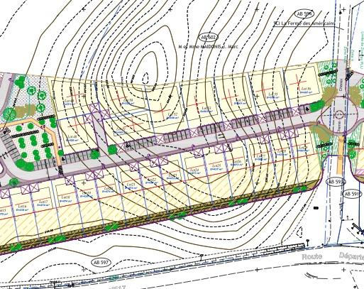 Lotissement Charvieu-Chavagneux - Terrain à bâtir à Charvieu-Chavagneux - Maison Neuve à Charvieu-Chavagneux- Les haut du Lac